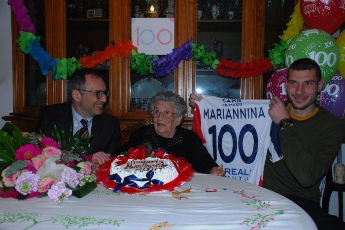 100 anni di Marianna Girolami
