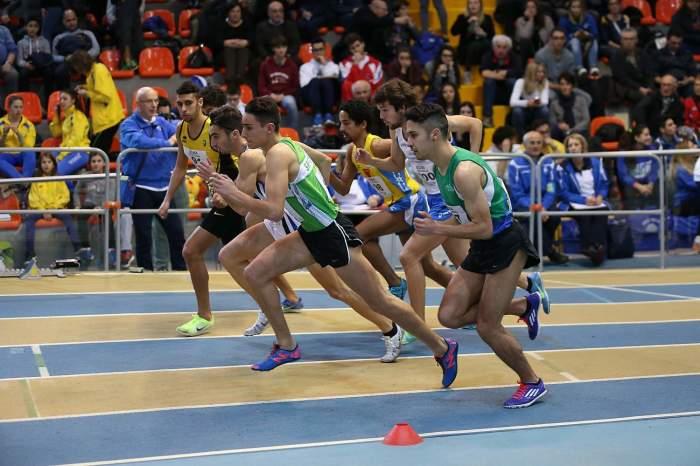 Un momento delle gare al Palaindoor di Ancona