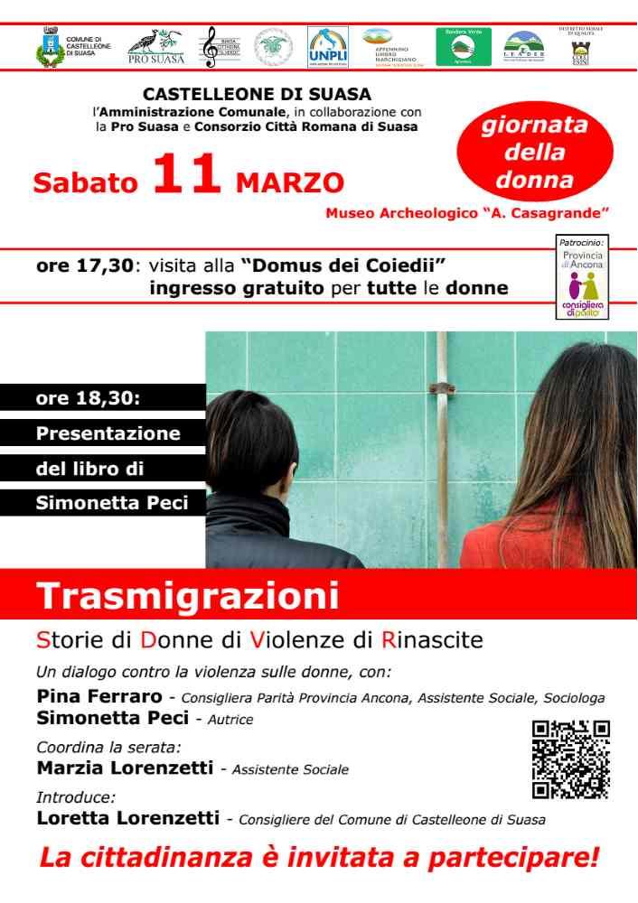 8 Marzo, Giornata Internazionale della Donna a Castelleone