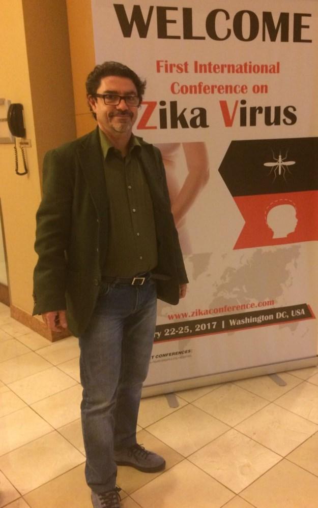 Il Prof. Guido Favia relatore alla First International Conference on Zika Virus, tenutasi a Washington Dc
