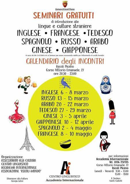 Seminario di Lingua e Cultura Spagnola