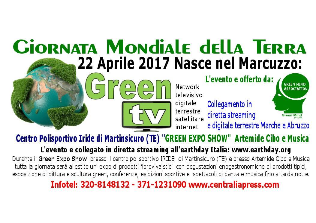 22 Aprile, Giornata Mondiale della Terra: nasce nel Marcuzzo Green Tv