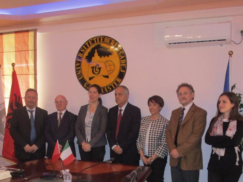 Beni culturali, rinnovato l'accordo tra UniMc e Università di Argirocastro