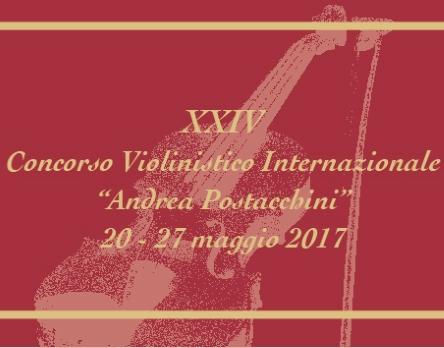 Concorso Violinistico Postacchini: