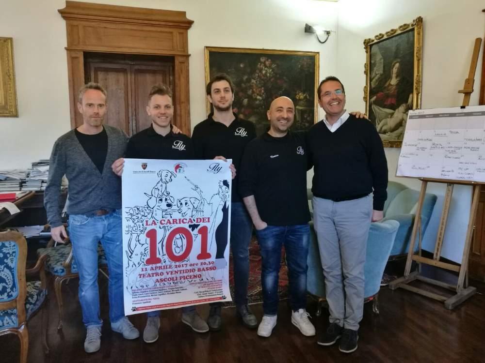 """""""La carica dei 101"""" al Teatro Ventidio Basso"""