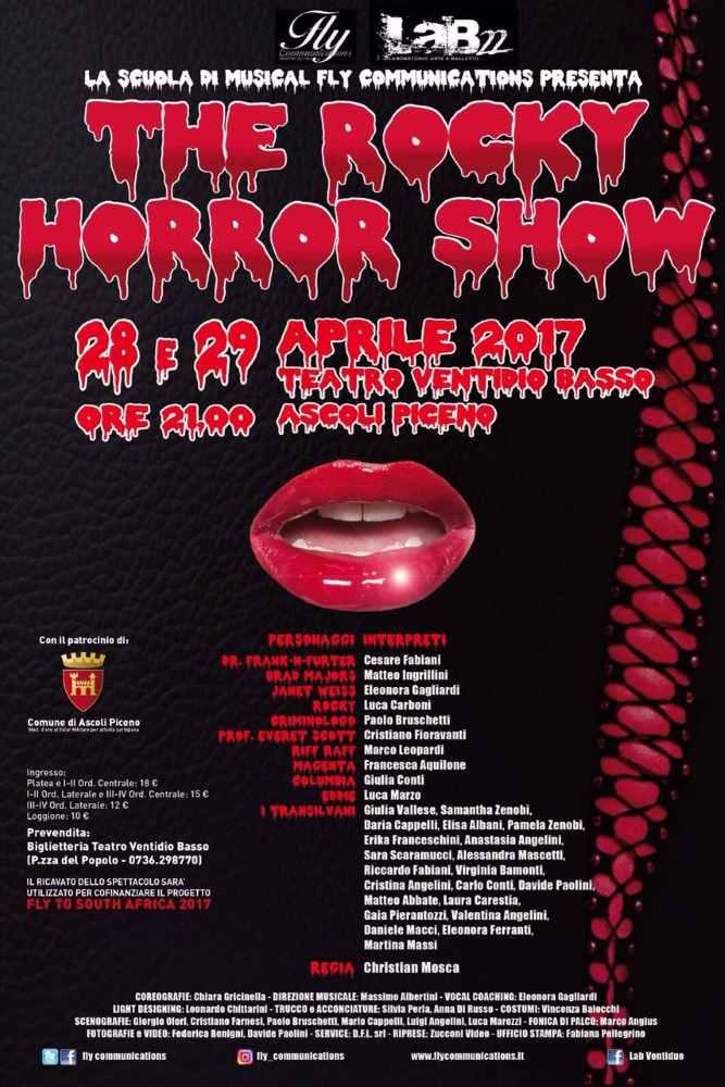 """Musical """"The Rocky Horror Show"""" al Ventidio Basso"""