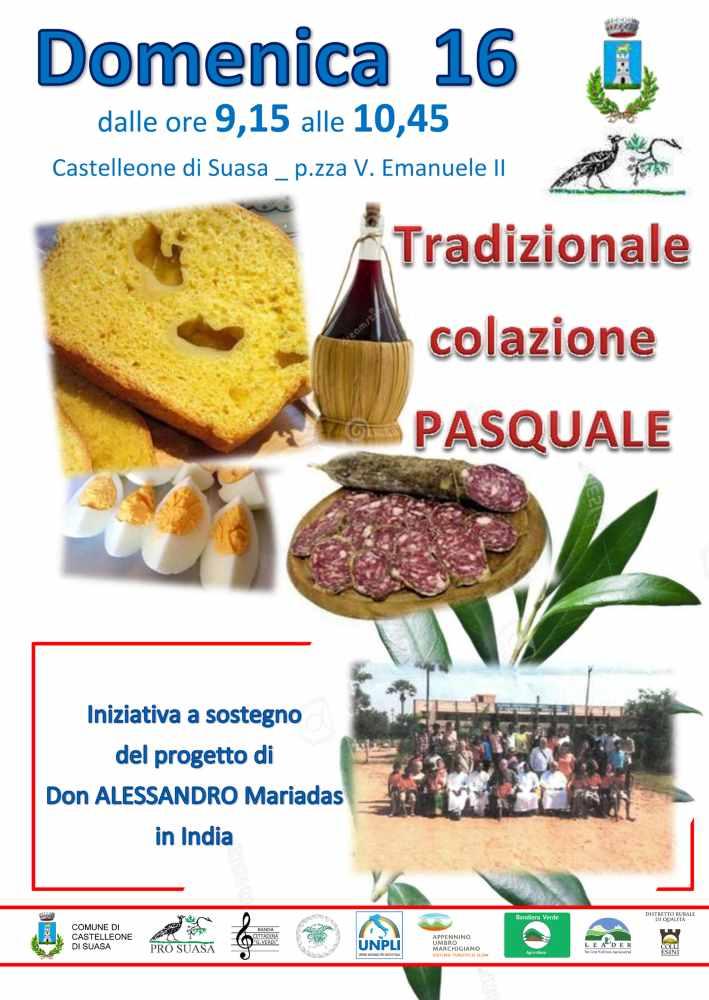 Tradizionale Colazione Pasquale a Castelleone