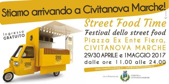 "A Civitanova Marche arriva lo ""Street Food Time"""