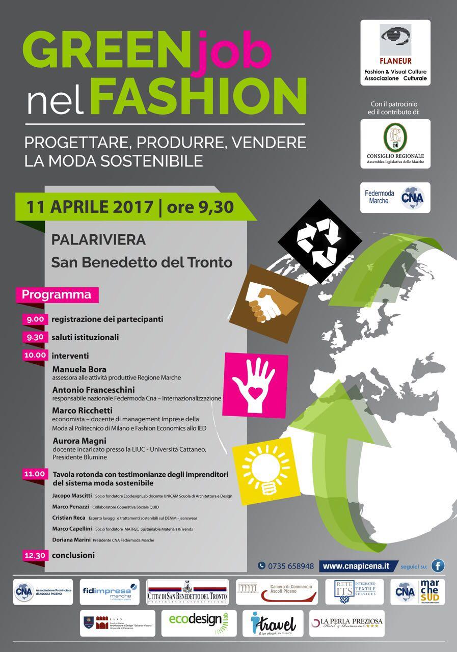Dati sistema Moda Marche del Piceno e convegno di martedì a San Benedetto