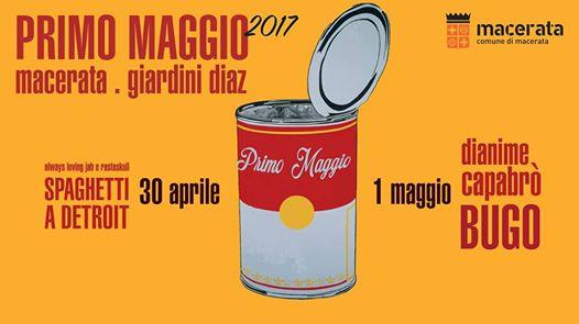 Primo Maggio 2017, a Macerata c'è Bugo