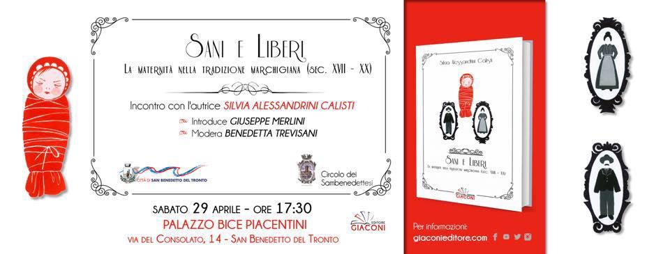 La maternità nella tradizione marchigiana, a San Benedetto il libro di Silvia Alessandrini Calisti