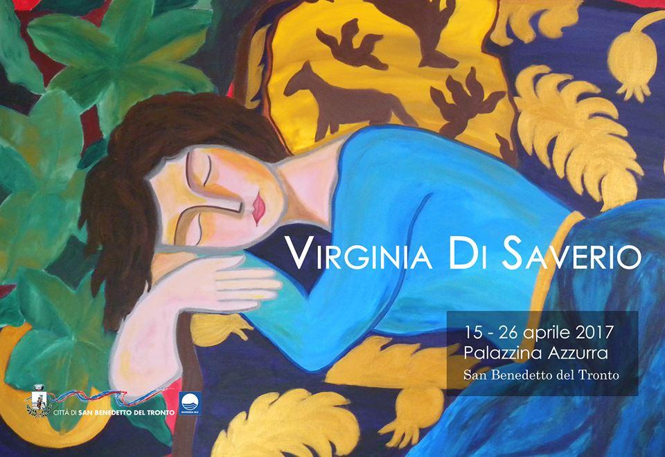 Virginia Di Saverio, pittrice e poetessa alla Palazzina Azzurra