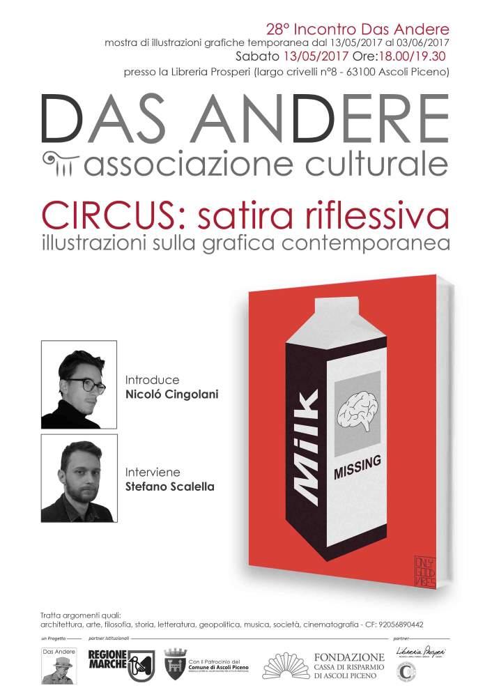 Circus, satira riflessiva alla Libreria Prosperi