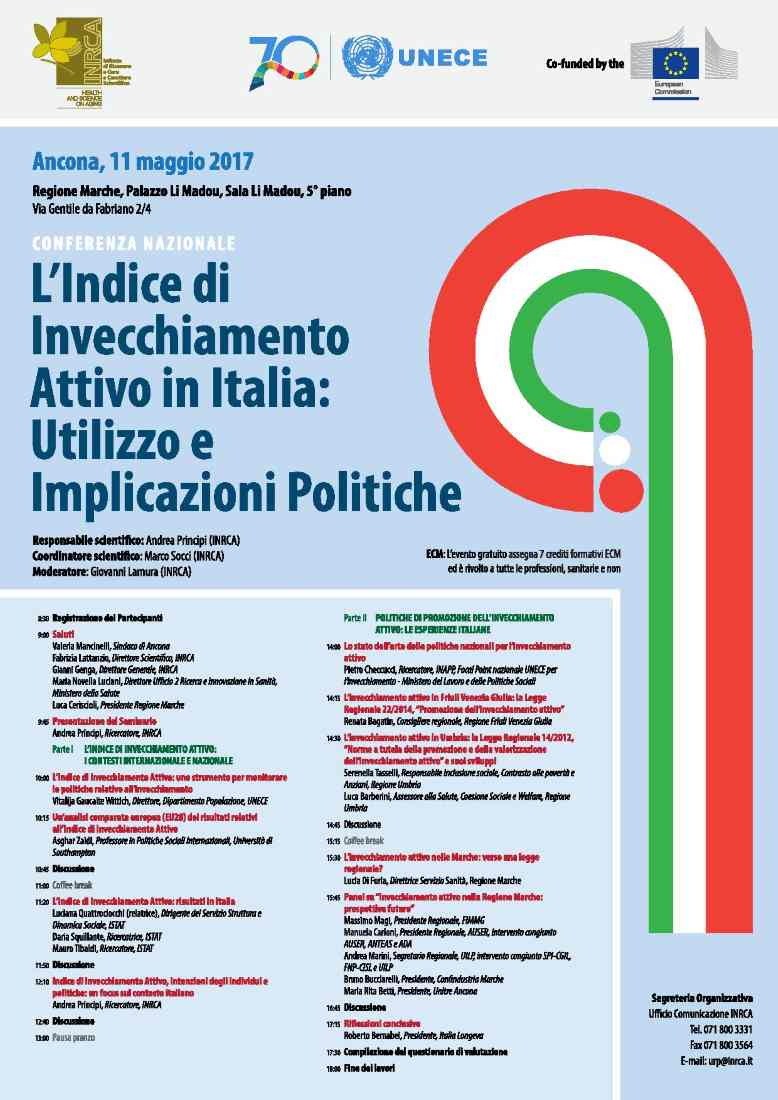 Indice di invecchiamento attivo in Italia: utilizzo e implicazioni politiche