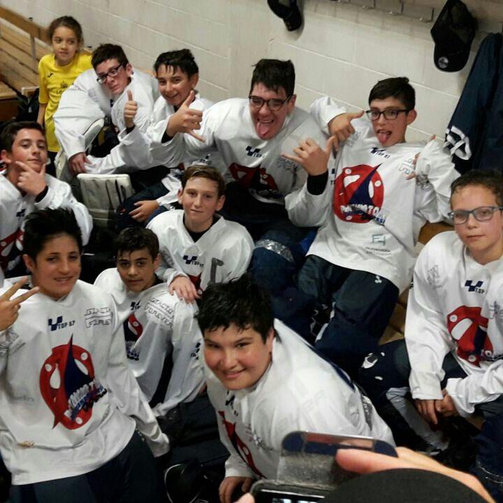 Hockey, i ragazzi della Pattinatori Sambenedettesi quinti assoluti in Italia