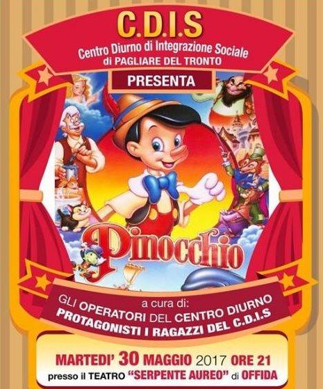 "Il Cdis presenta ""Pinocchio"" al Serpente Aureo"