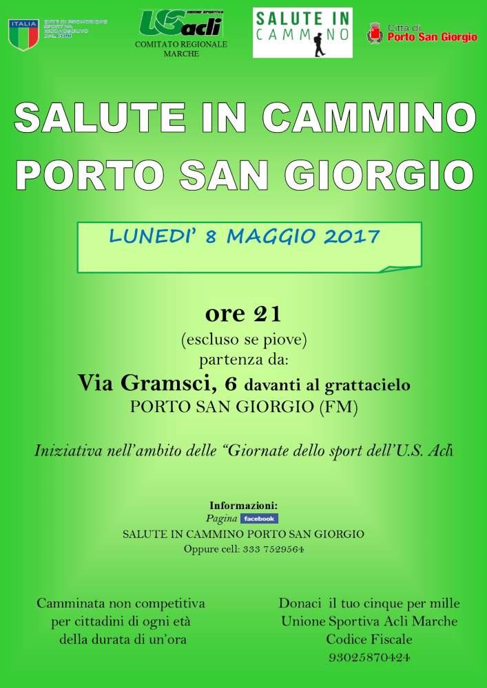 """Riprende """"Salute in cammino"""" a Porto San Giorgio"""