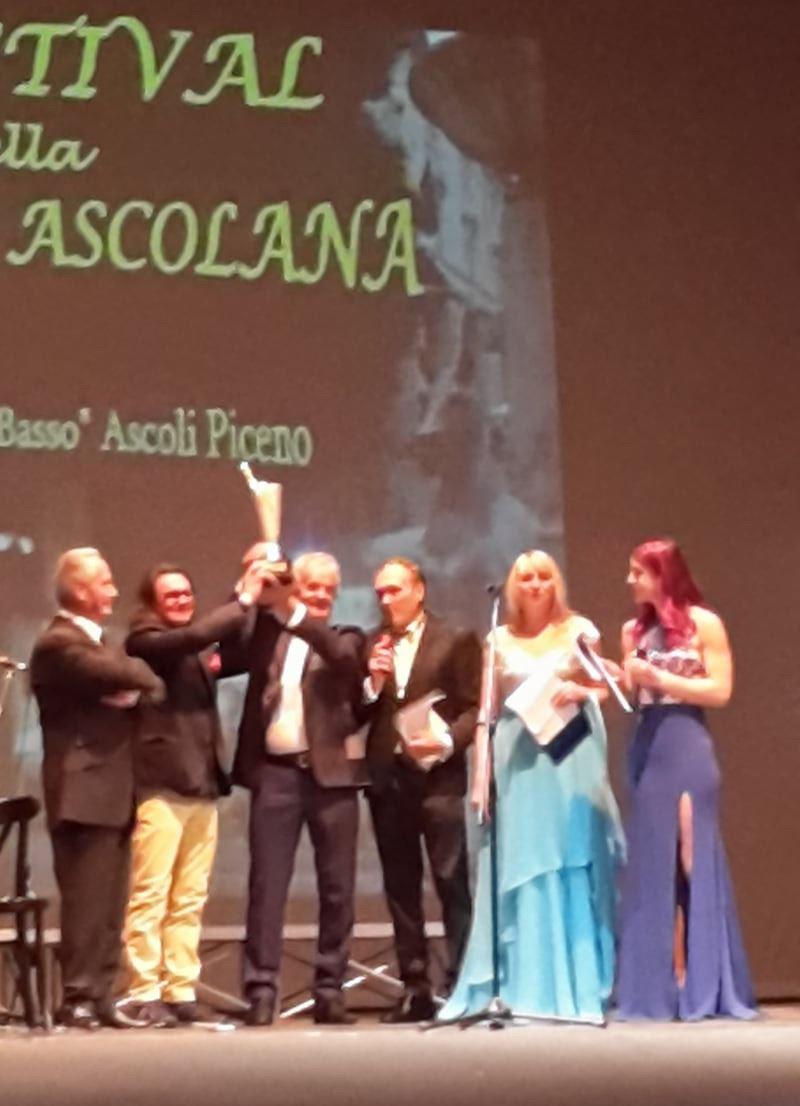 Endrio di Girolamo e Franco Marianitrionfano al Festival della Canzone Ascolana