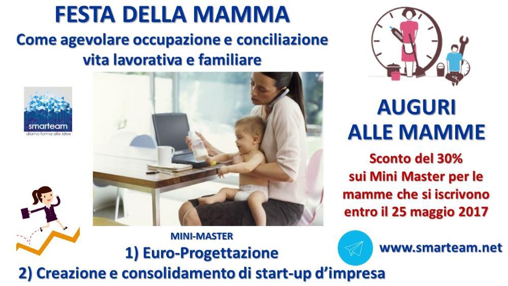 Festa della Mamma: occupazione e conciliazione vita familiare e lavorativa