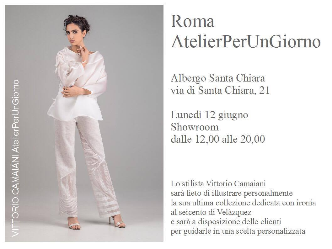 Roma VittorioCamaiani AtelierPerUnGiorno
