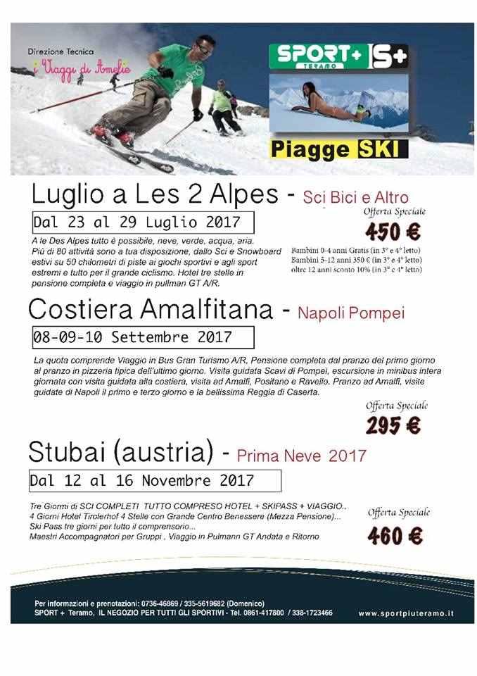 """Luglio sugli sci a """"Le Des Alpes"""" con PiaggeSki"""