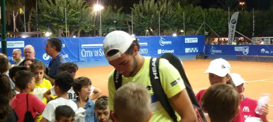 San Benedetto Tennis Cup, Berrettini accede ai quarti