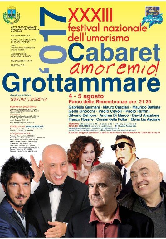 33° Cabaret, amoremio!, – 4 al via