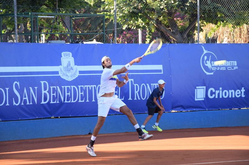 San Benedetto Tennis Cup: Berrettini d'autorità al 2° turno