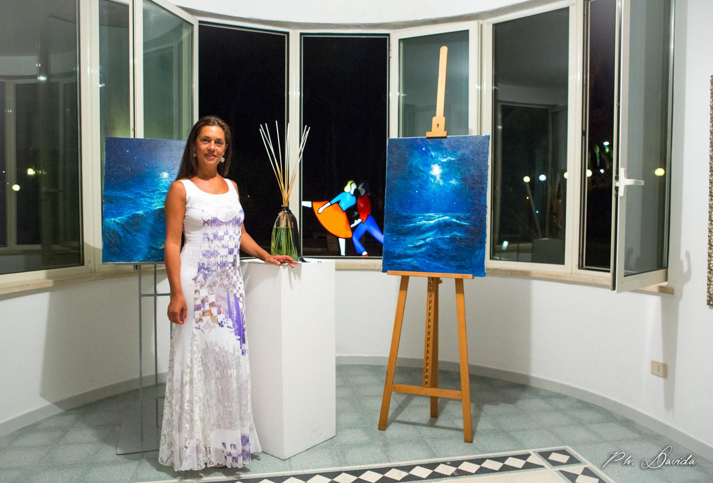 """Alessandra Peloso, """"il mare il mio specchio"""": video-intervista all'artista"""