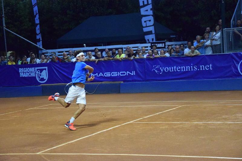 San Benedetto Tennis Cup: Travaglia inciampa su Taberner. Oggi in campo Berrettini