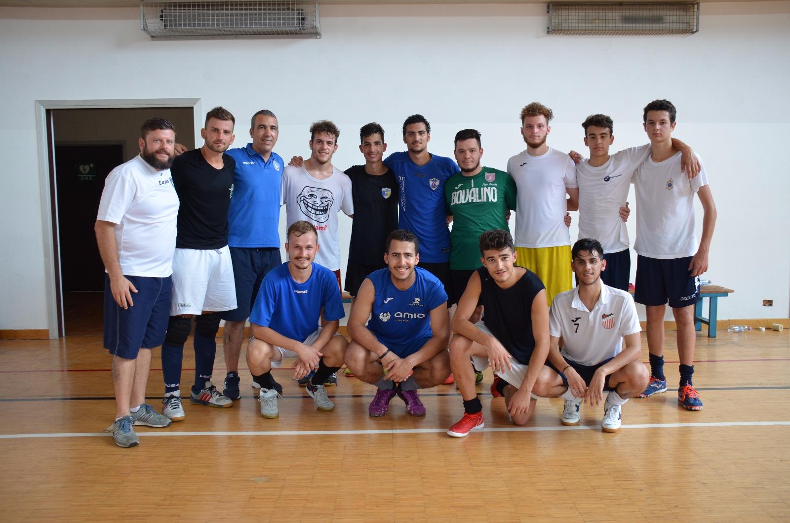 Calcio a 5 sordi d'Italia: concluso il raduno in Città