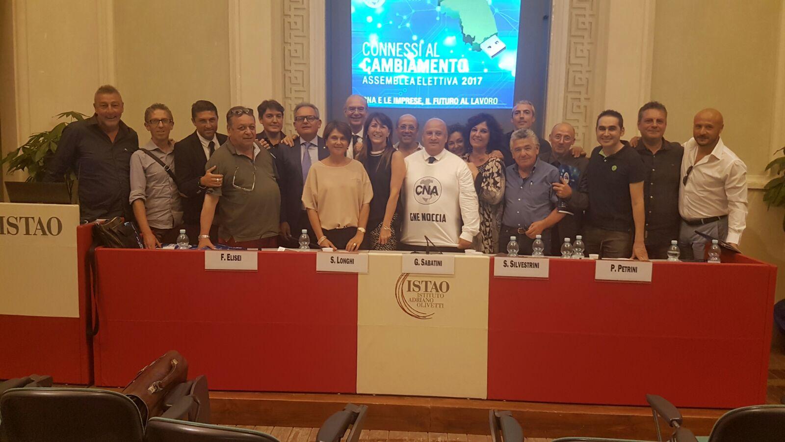 Gino Sabatini riconfermato presidente della Cna regionale delle Marche