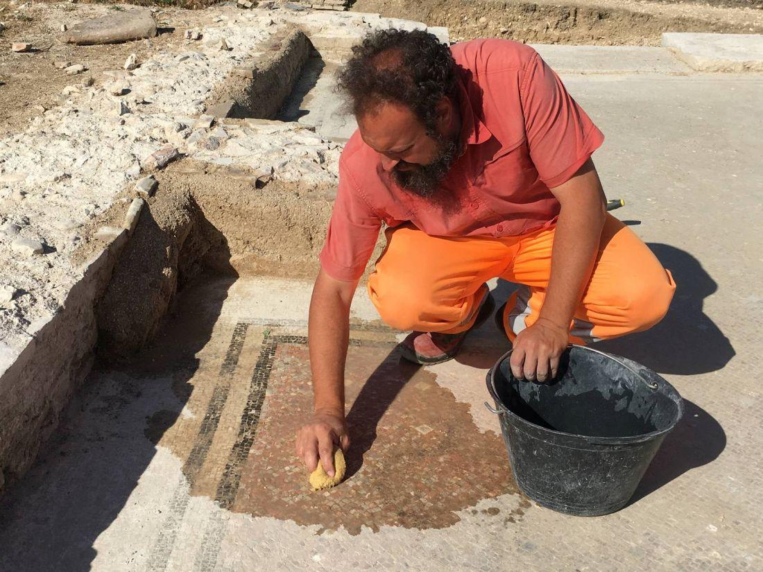 La romana Villamagna svela mosaici e dipinti