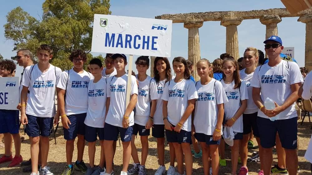 Nuoto, la Delphinia Team Piceno protagonista al Trofeo delle Regioni