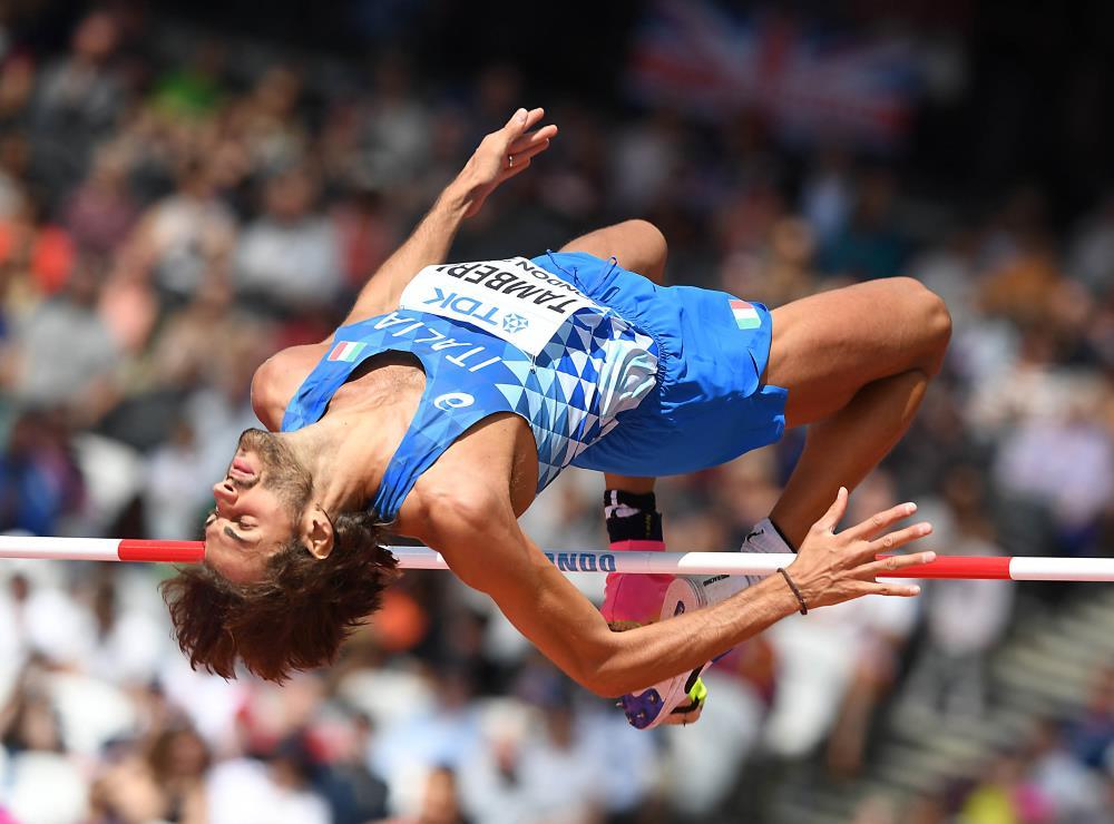 Atletica, Mondiali: Tamberi salta 2.29 ma non basta per la finale