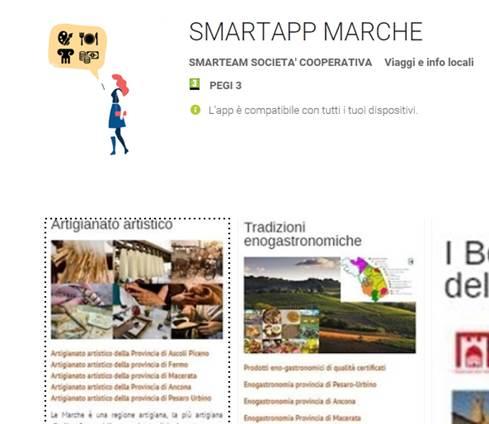 Smartapp Marche:conosci la regione con un click