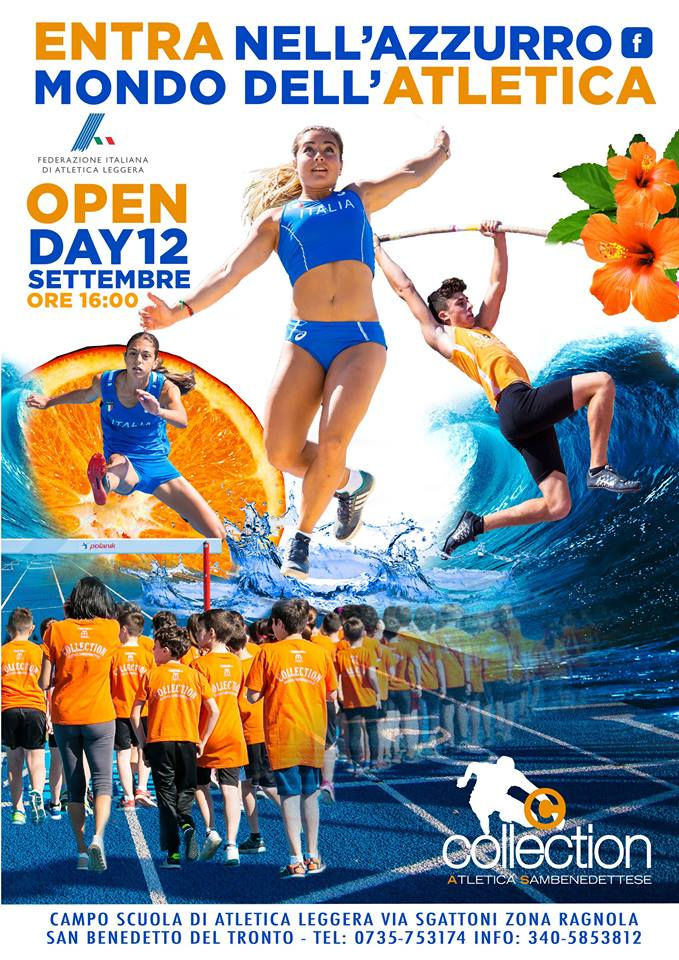 Open Day Collection Atletica Sambenedettese