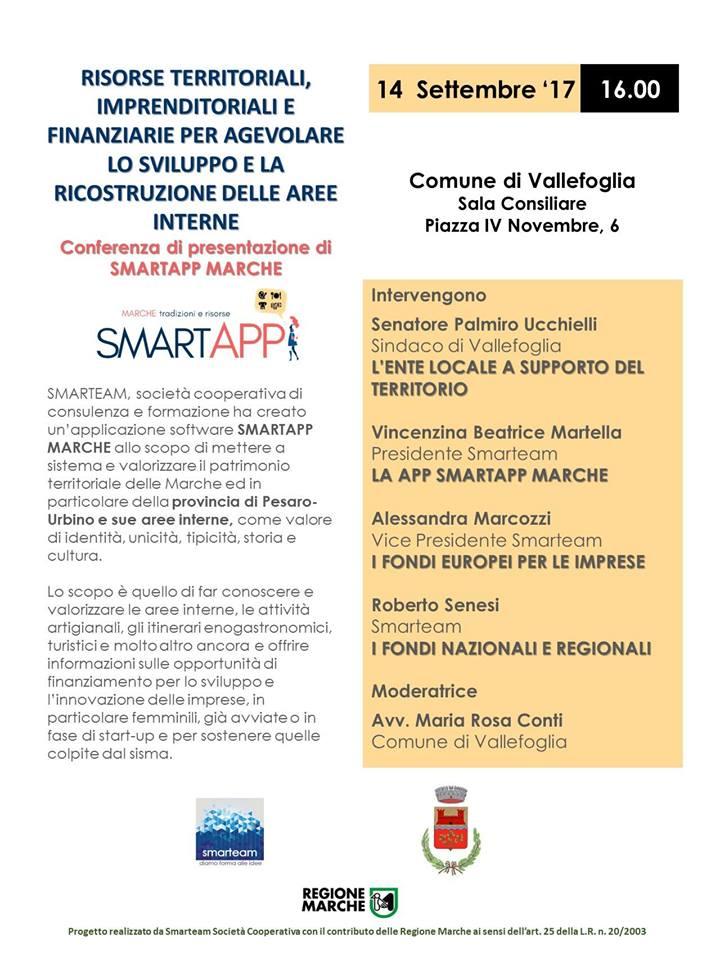 Smartapp in tour: conferenze di presentazione della App Smartapp Marche