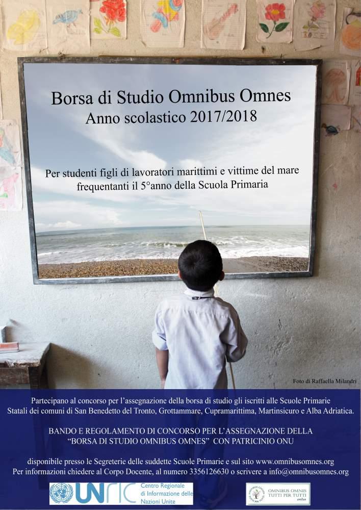 Giornate Onu: escono i nuovi bandi della Omnibus per la borsa di studio e il concorso di disegno dedicati al mondo del mare