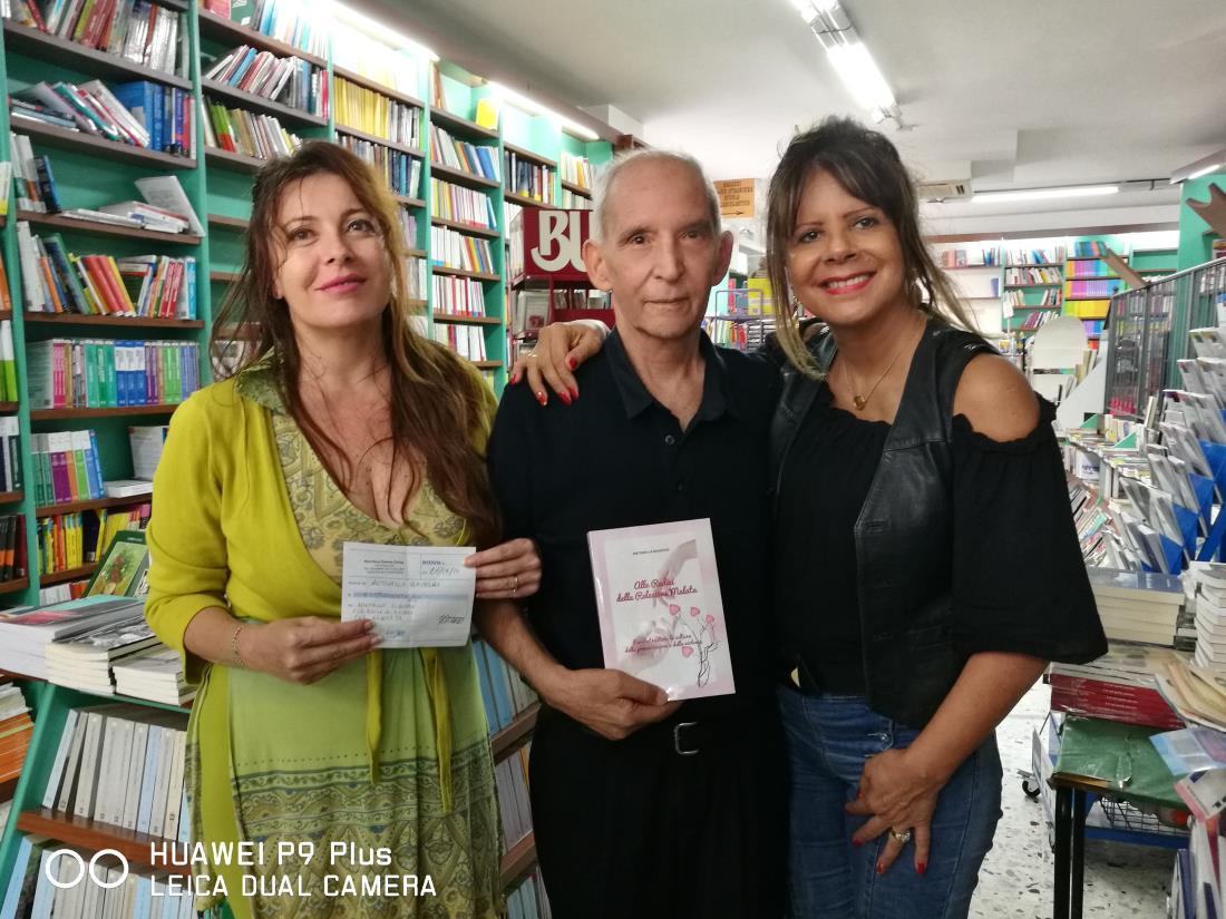 Antonella Baiocchi devolve l'intero incasso dei suoi libri e replica alla Sorge