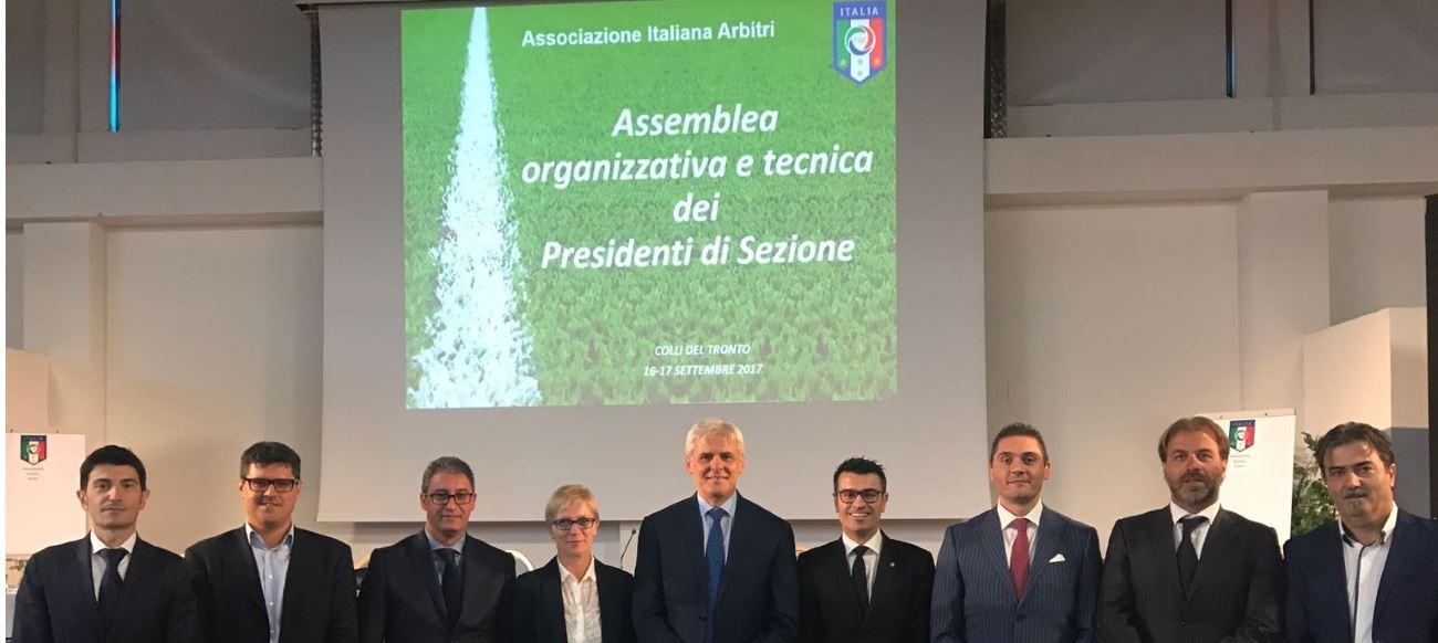 Assemblea nazionale dei Presidenti delle Sezioni Arbitri di calcio nel Piceno