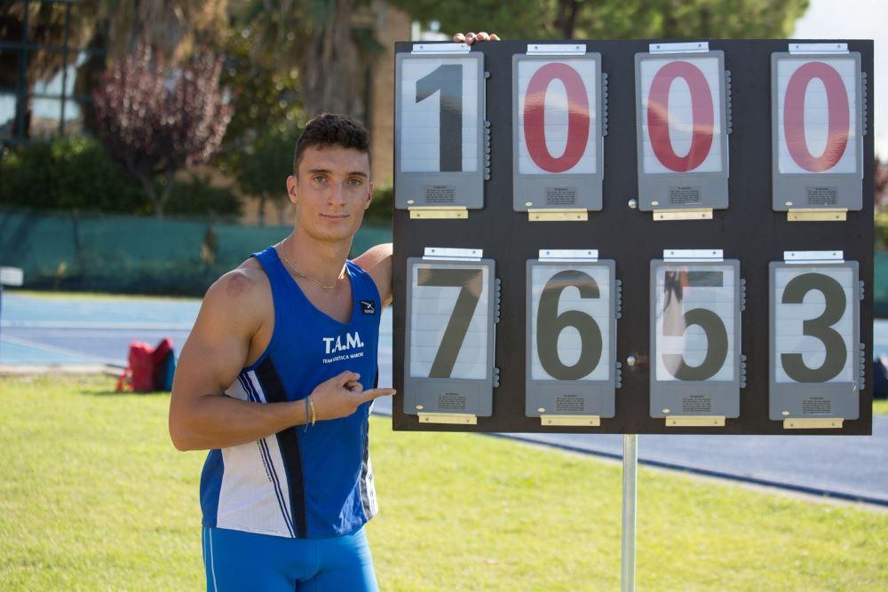 Record italiano nel martello U18 per Olivieri!