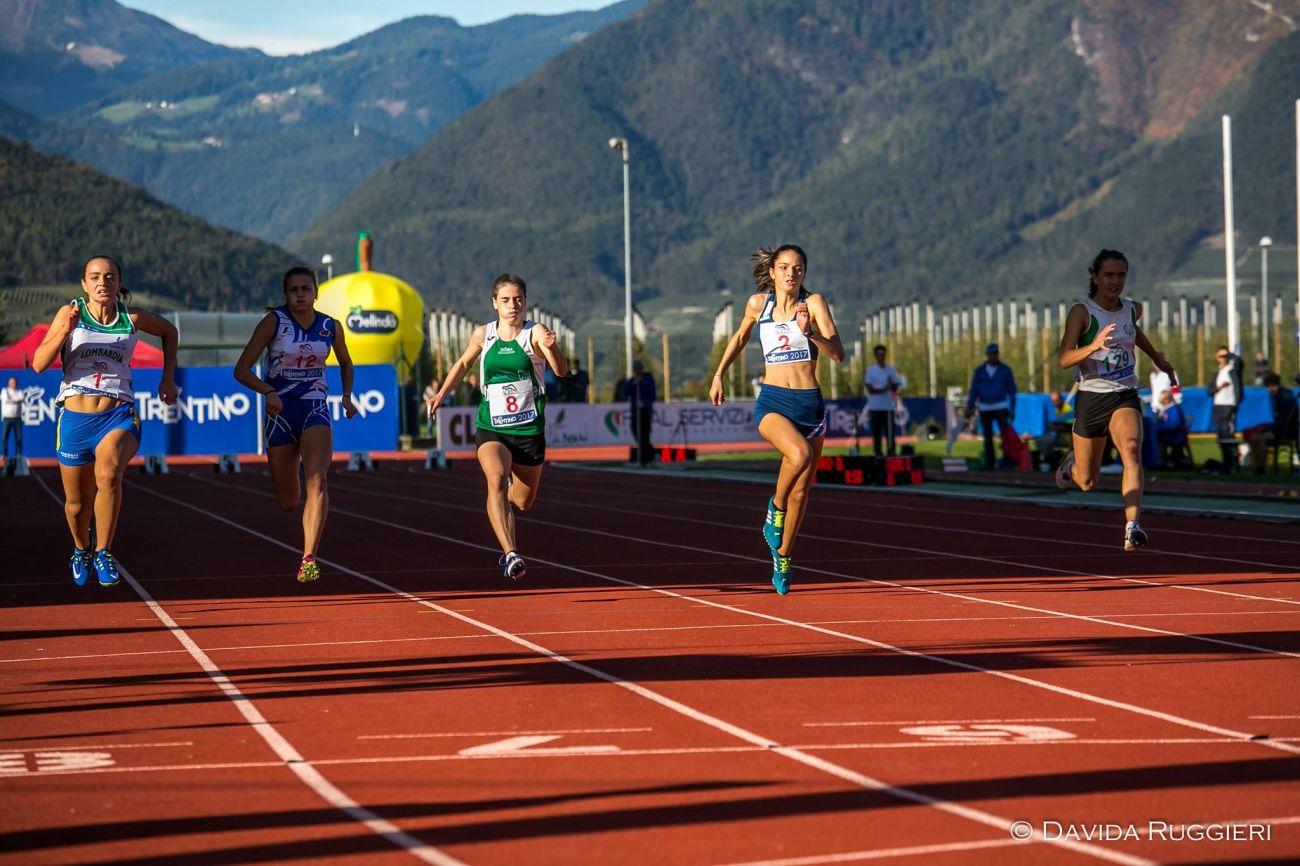 Atletica tricolore, la cadetta Rastelli di bronzo a Cles