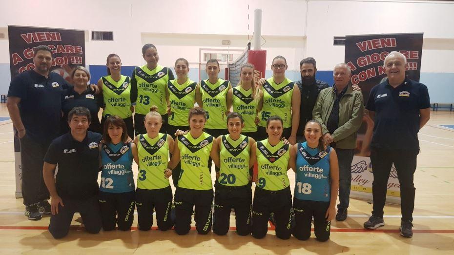 PallaVolo femminile serie C, Volley Angels – Offida 0 a 3