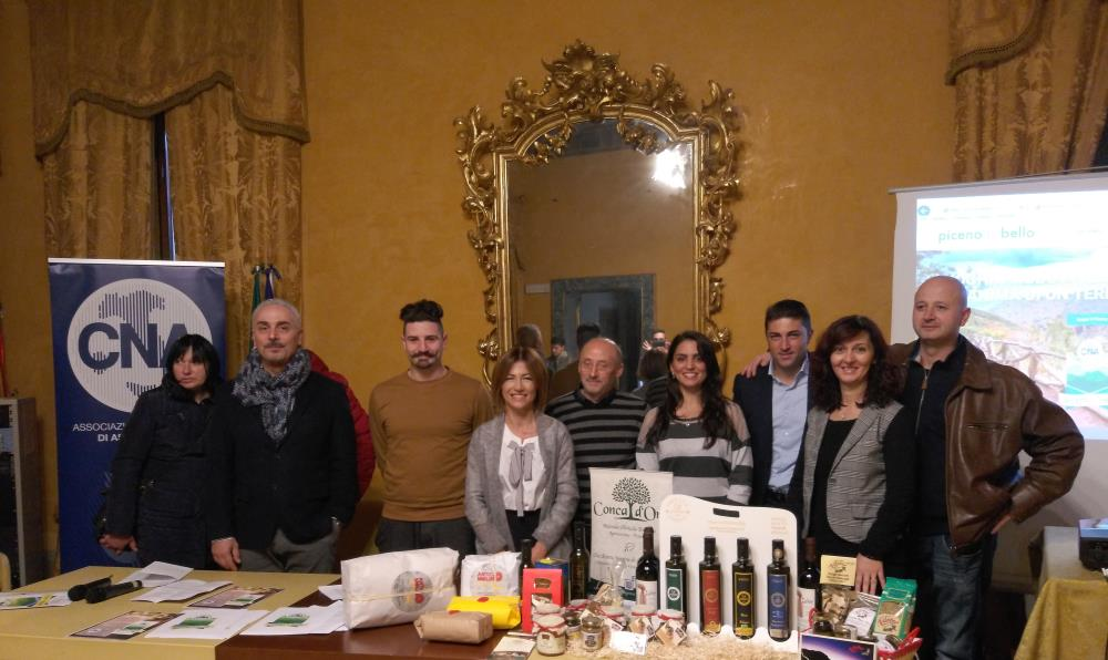 Al via il progetto PicenoCheBello con i cesti natalizi prodotti dalle aziende colpite dal sisma