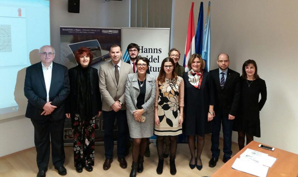 Delegazione UniCam all'Università di Rijeka