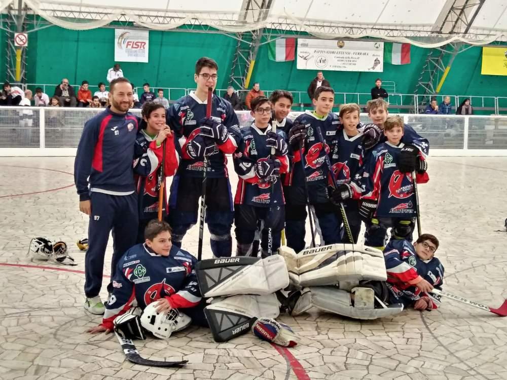 Hockey inline, inizia bene il campionato della Pattinatori Samb