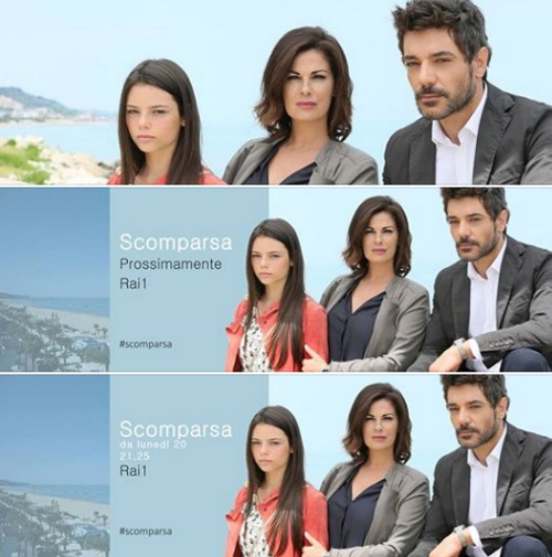 """Vanessa Incontrada e Giuseppe Zeno, """"Scomparsa"""": in onda su Rai Uno"""