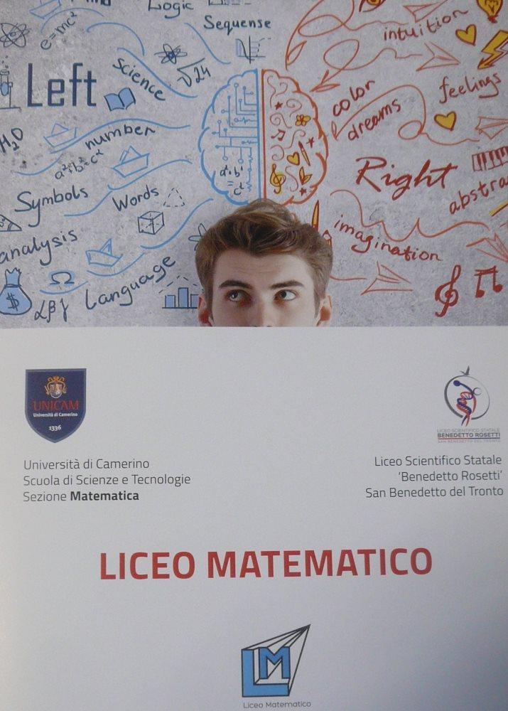 """Presentato il """"Liceo Matematico"""" allo Scientifico Rosetti"""