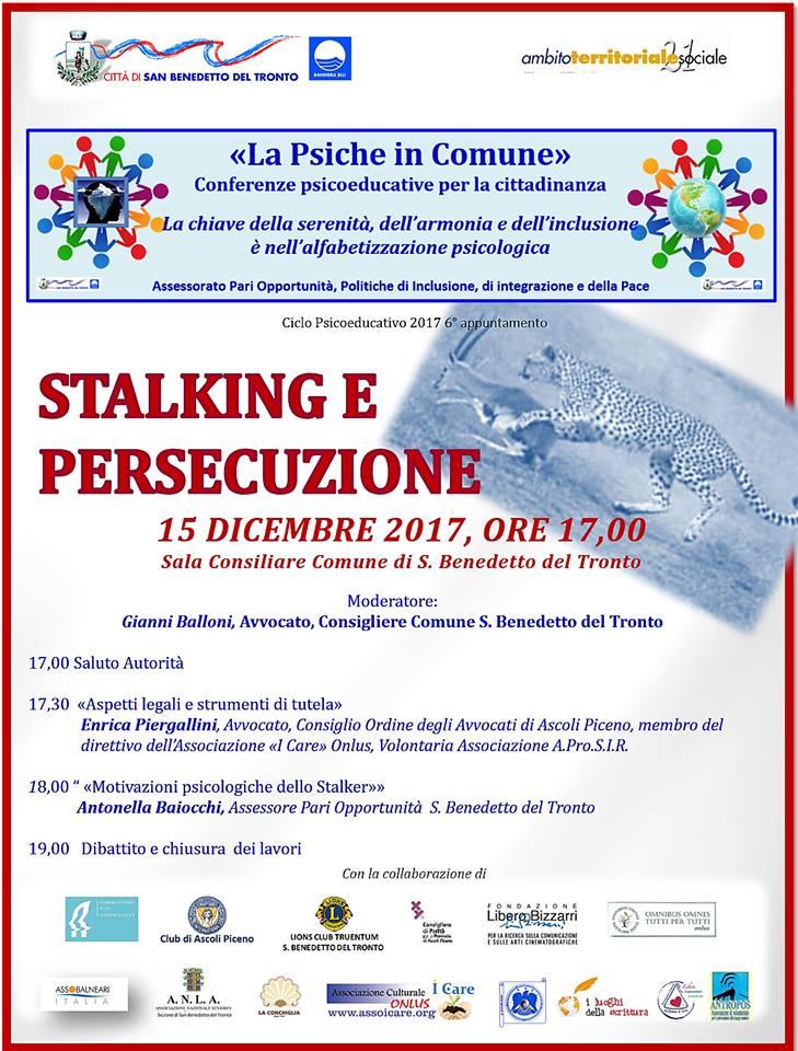 La Psiche in Comune: Stalking e Persecuzione